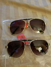 gold-colored framed Hermes aviator sunglasses Providence, 02907