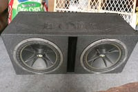 12inch subwoofers in Q bomb box