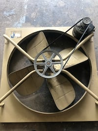 """Rarely used 36"""" House fan with Grill Wading River, 11792"""