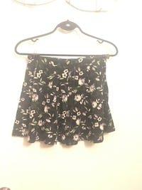 black and white floral skirt Toronto, M6S 1M8