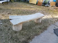 wood bench Victoria Harbour, L0K 2A0