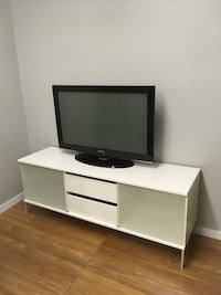 white wooden tv stand Abbotsford, V2T 2H3