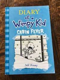 Diary of a Wimpy Kid Cabin Fever by Jeff Kinney book