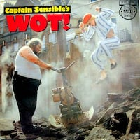 "CAPTAIN. SENSIBLE - ""WOT""/ ""HAPPY TALK"" 12"" single - $3(Bethesda) Bethesda, MD, USA"