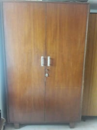 brown wooden 2-door wardrobe Thane, 400612