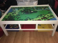 Kids train table / play table with storage Ajax, L1T 1W8