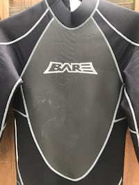 Scuba Wetsuit - BARE Attack 3/2mm full Chevy Chase