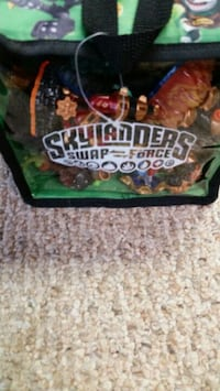 18 Skylanders 2 sided carrying case Frederick, 21702