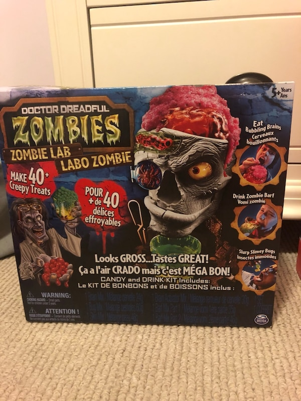Zombie Lab New in Box