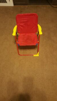 red and yellow camping chair Corpus Christi, 78413
