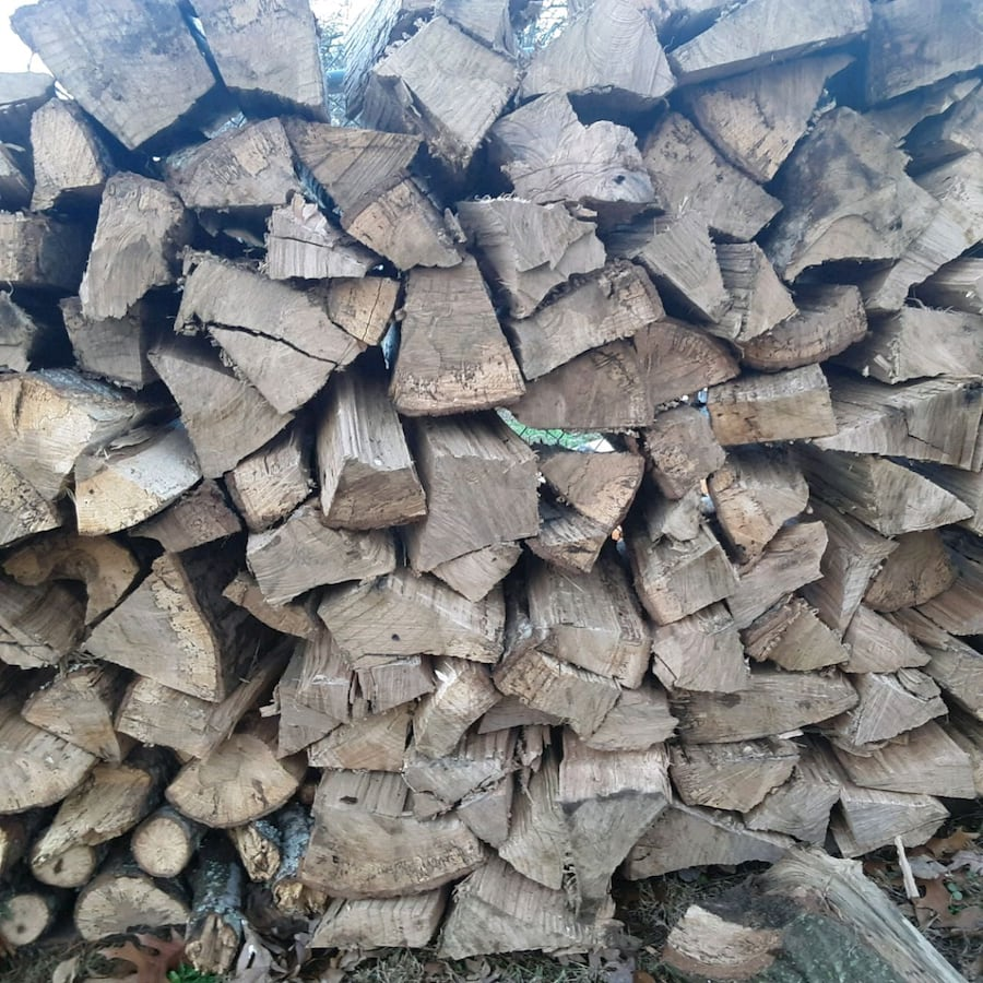 premium fire wood for sale. 4ft. high # 8ft. long