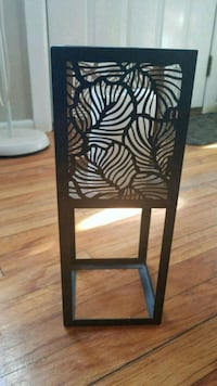 Metal Candle lantern stand from pier one