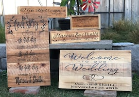Wedding Signs Made To Order