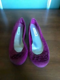 purple suede flat shoes Barstow, 92311