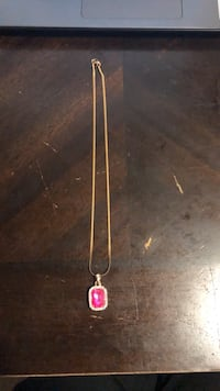 Jewelry  Ruby     Emerald  Pendant Necklace