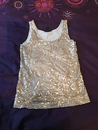 Sparkly gold top never worn size 8 Greater London, E4 7EW