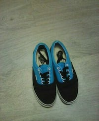 Кеды vans authentic black and blue  Краснодар, 350089
