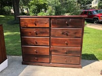 brown wooden 6-drawer dresser Fairfax, 22032
