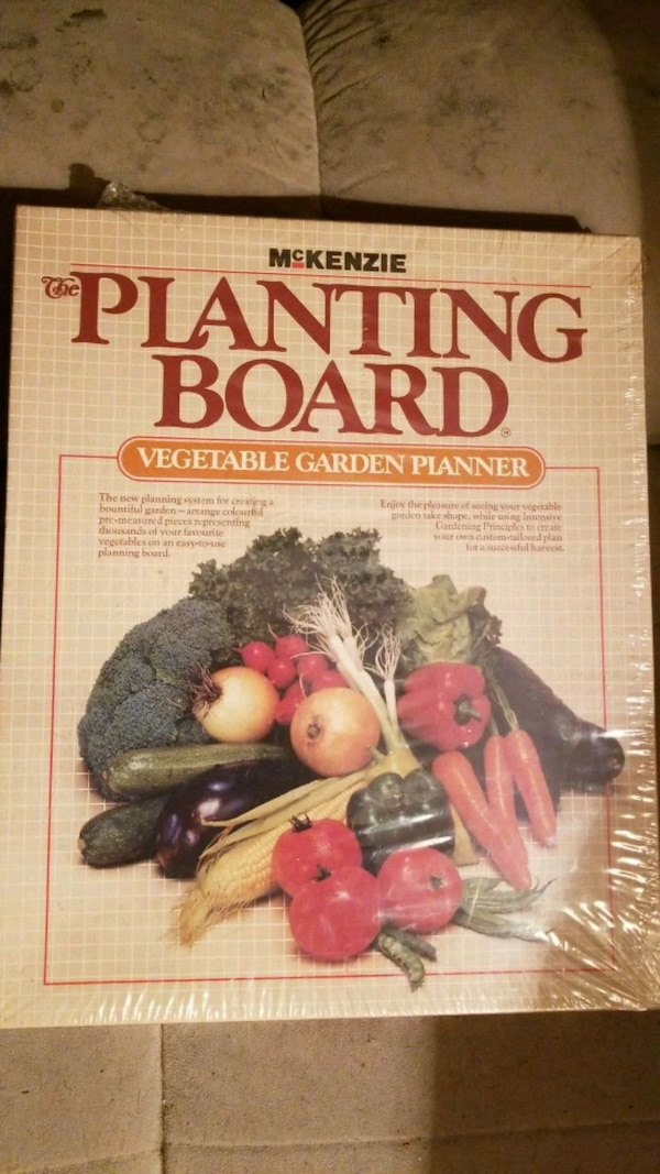 The Planting Board Planner for Sale!