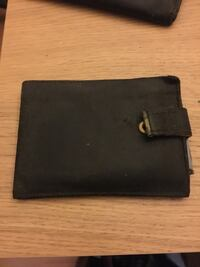 Monedero billetero de piel antiguo vintage 6513 km