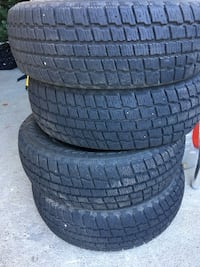 4 x 175/65R14 winter tires in good condition