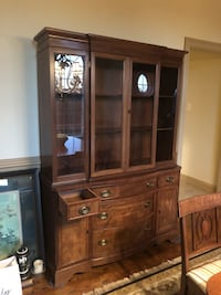 Wooden China Cabinet West Friendship, 21794