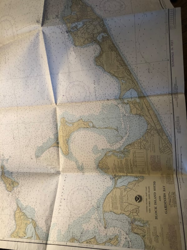 Vintage xl Long Island maps navigation and marine atlas  4e5bed38-63c7-4814-8eef-9ba78005dd85