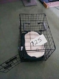 black metal folding dog crate Gaithersburg, 20878