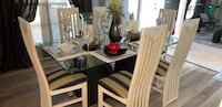 brown wooden table with chairs Orlando, 32818