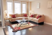 Modern Living / Family Room Sofa and Loveseat Beige Brampton, L6V 0Z9