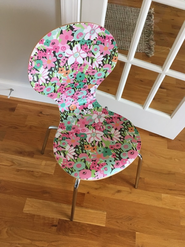 Enjoyable Floral Accent Or Desk Chair Inzonedesignstudio Interior Chair Design Inzonedesignstudiocom