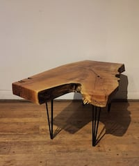 Unique  hardwood coffee table Toronto, M6B 2B6