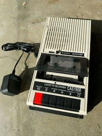 Cassette player recorder Los Angeles, 91344