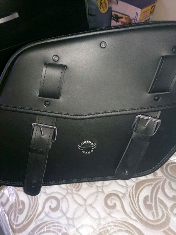 2x Large motorcycle saddlebags (negotiable)