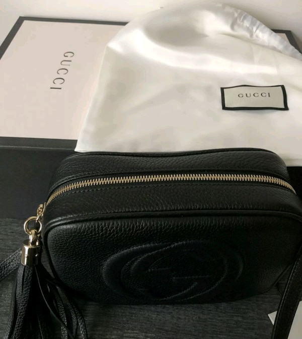 d7d77dc9958 Used Gucci Soho disco bag with tags and receipt for sale in Romford ...