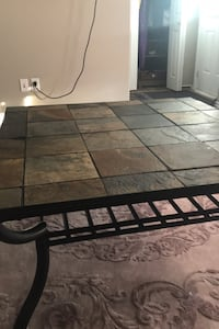 2 removable stone tables