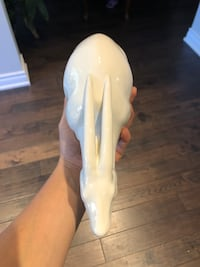 Art Deco stylized antelope head with a white glaze Mississauga, L5A 4A4