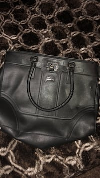 black leather tote bag Terrell, 75160