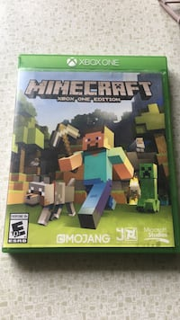 Minecraft Xbox One game case Whittier, 90605