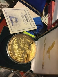 Collectors Half pound silver gold plated Vancouver, V5R 5J7