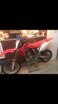 red and white Honda motocross dirt bike Mechanicsville, 23111