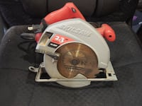 white and red Skilsaw circular saw Los Angeles