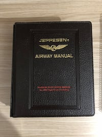 Jeppesen airway manual Etimesgut, 06790
