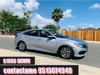 Honda - Civic - 2016 $1600 DOWN PAYMENT Riverside