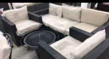 Brand new patio set ONLY $39 down NO CREDIT NEEDED????