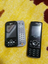 black and gray lg and samsung simcard phones New Westminster, V3M 5K9