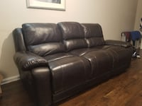2 Genuine Leather Couches- Like New Mount Albert, L0G 1M0