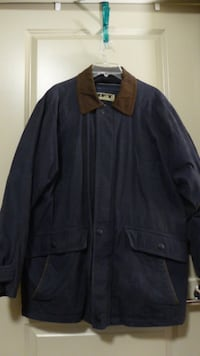 RFT by Rainforest Men's Jacket with Removable Down Filled Lining Size