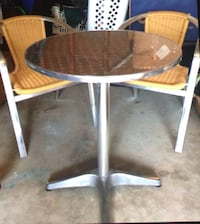 Beautiful, STAINLESS/ RATTAN 3 PC.BISTRO SET Freehold, 07728