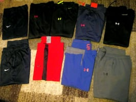 UA & Nike Sweatpants